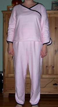 Pretty in Pink Pajamas
